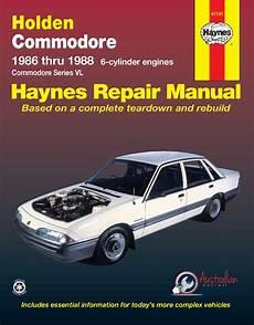 car repair manual download 1986 pontiac gemini seat position control workshop manual suitable for holden commodore vl 1986 1988 new genuine haynes repair manual