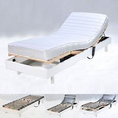 Sommier Relaxation 233 Lectrique Flexpur 80x200 Blanc
