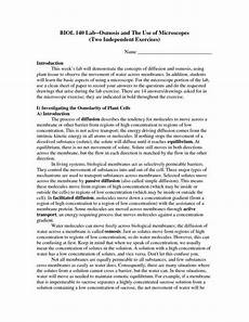 osmosis and tonicity worksheet answers briefencounters