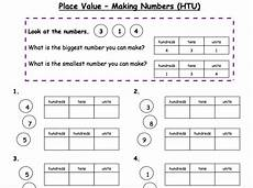 place value and partitioning worksheets 5642 place value partitioning numbers htu teaching resources