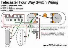 7 Way Tele Wiring by 4 Way Switch Wiring Diagram Tele Wiring Schematic Diagram
