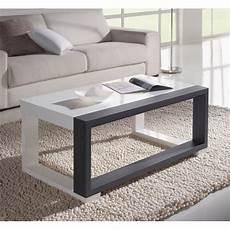 Les Concepteurs Artistiques Table Basse Blanc Gris