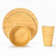 lekoch 16 teilige bio bambus umweltfreundlich cing