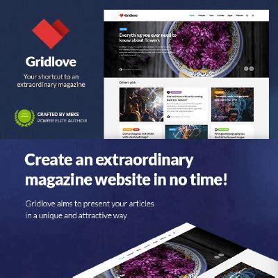 gridlove v1 5 creative grid style news magazine