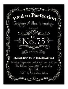 75th birthday card template aged to perfection 75th birthday invitations 75th