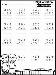 addition and subtraction worksheets with and without regrouping 9679 3 digit addition and subtraction without regrouping worksheets tpt