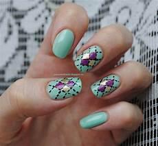 plaid nails http passionorkinda blogspot ru 2013 06