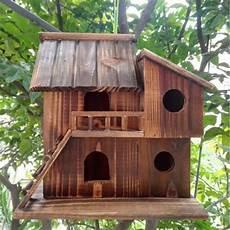 25 25 16 cm bois conservateur ext 233 rieur oiseaux nid bois