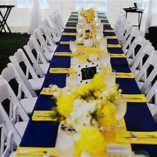 navy and yellow reception decor traditional wedding decor navy yellow weddings blue yellow