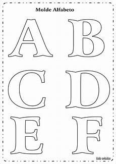 molde letras do alfabeto ideia criativa gi carvalho educa 231 227 o infantil