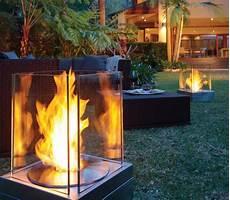 feuerstelle garten gas moderne gartengestaltung mit dekorativer feuerstelle 30 ideen