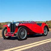 1938 MG TA Roadster = RHD Red Restored Rare $445k For
