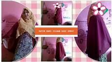 Cara Membuat Cardigan Atau Outer Menggunakan Jilbab Segi