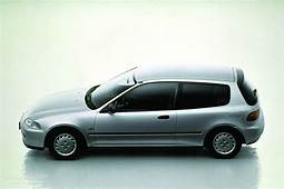 HONDA Civic 3 Doors Specs  1991 1992 1993 1994 1995