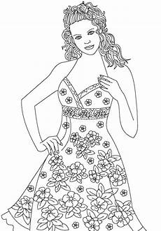 top model coloring pages to and print for free