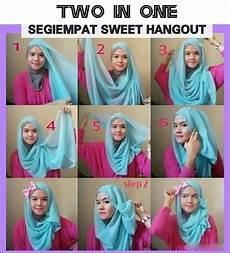 Cara Memakai Jilbab Segi Empat Untuk Hangout Atau Jalan Jalan