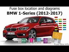 Fuse Box Location And Diagrams Bmw 1 Series 2012 2017