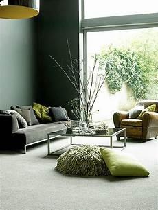 wohnzimmer grün grau wandfarbe ideen die sie beim anblick sicherlich fesseln