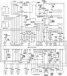 1993 Toyota Wiring Diagram