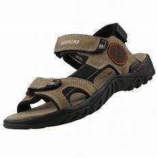 dockers by gerli herren sandalen schwarz braun und beige