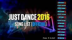 Just 2016 Song List Official Complete