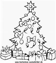 ausmalbild weihnachtsbaum 10 zum ausdrucken
