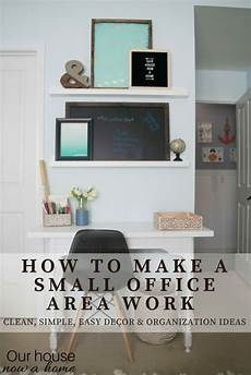 Easy Small Home Decor Ideas by Creating An Office Space In A Bedroom Adding Function