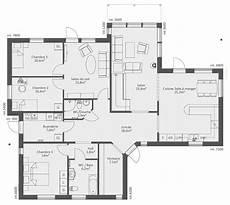 plan maison moderne étage plan maison moderne 100m2 a etage de plain pied 12 150m2