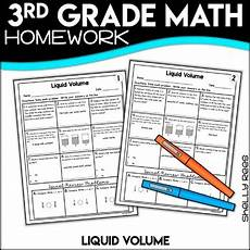 liquid measurement worksheets grade 3 1675 liquid volume 3rd grade worksheets by shelly rees tpt