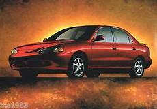 hyundai accent elantra excel scoupe sonata 1994 1998 workshop manual 1998 hyundai accent sonata elantra tiburon brochure catalog with color chart ebay