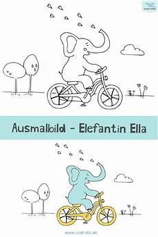 Ausmalbilder Ella Elefant Ausmalbild Elefant Ella Ausmalen Ausmalbilder Kinder
