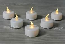 candele led a batteria vendita 6 pz candele candeline a led tea lights batteria