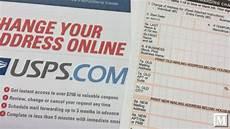 postal service change of address system by