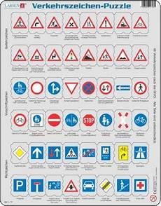 Verkehrszeichen Und Ihre Bedeutung - puzzle traffic signs in german