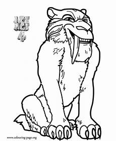 age diego age 4 continental drift coloring page