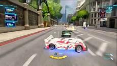 Cars 2 The 2 Wheel Slalom Gameplay Multi