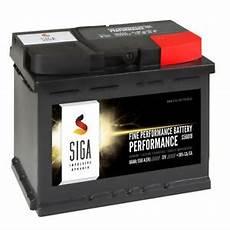 siga autobatterie 12v 60ah starterbatterie statt 54ah 55ah