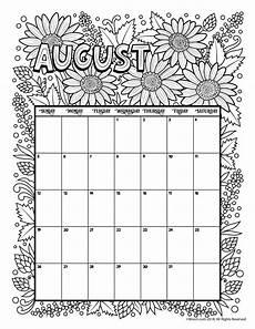 calendar coloring pages 17570 august 2018 coloring calendar page сделай сам календарь для печати шаблоны календарей и