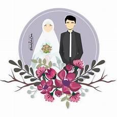 20 Inspirasi Gambar Animasi Pernikahan Muslim Jajas Blogs