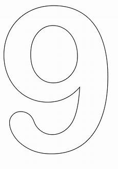 Number Nine Coloring Number 9 Coloring Pages Coloring Pages For