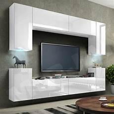 Moderne H 228 Ngewohnwand Lofter 01 Wohnzimmer Set M 246 Bel