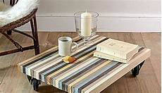 fabriquer sa table basse diy deco pas cher construire une table basse avec des