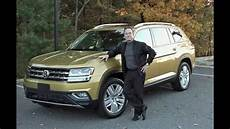 a volkswagen 2018 vw atlas car test drive review