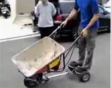 i want a ride diy motorized wheelbarrow geekologie