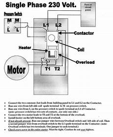 Electrical Contactor Wiring Diagram Free Wiring Diagram