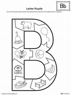 letter b worksheet for kindergarten 23447 letter b puzzle printable with images letter b activities alphabet preschool preschool