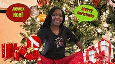 merry christmas marim ki ap ouvri kado christmas 2018 youtube