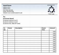 hotel receipt template free 18 sle hotel receipt templates in docs