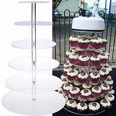 support pour gateau de mariage acrylic cupcake tower stand wedding birthday display