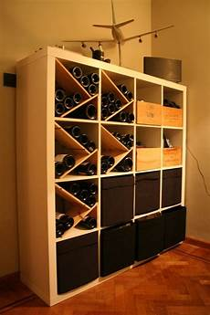 weinregal selber bauen how to combine ikea items to build your own wine rack